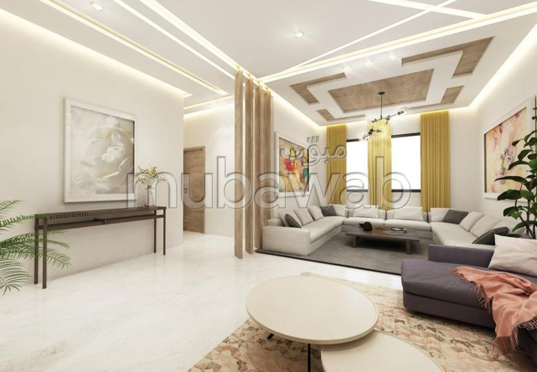 شقة رائعة للبيع بالقنيطرة. المساحة الكلية 107.0 م².