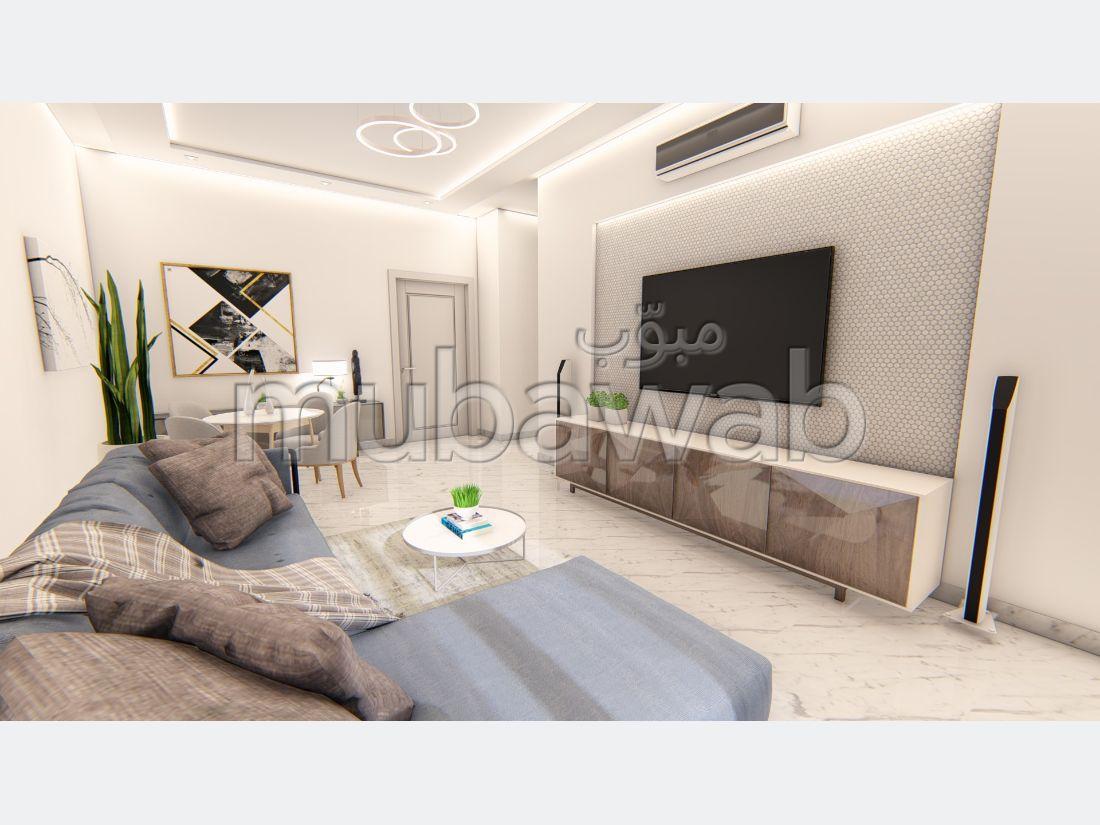 A vendre un superbe appartement S+2 à 135m², à La Soukra