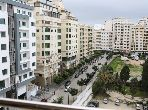 Sale of a lovely apartment in De La Plage. Small area 92 m². Furnished Moroccan living room, Enclosed residence.