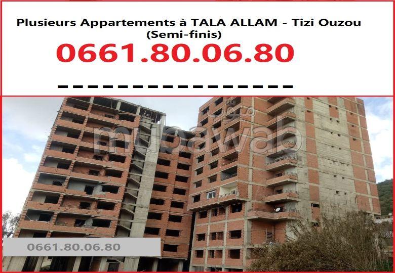 Appartements semi finis à TALA ALLAM, Tizi Ouzou