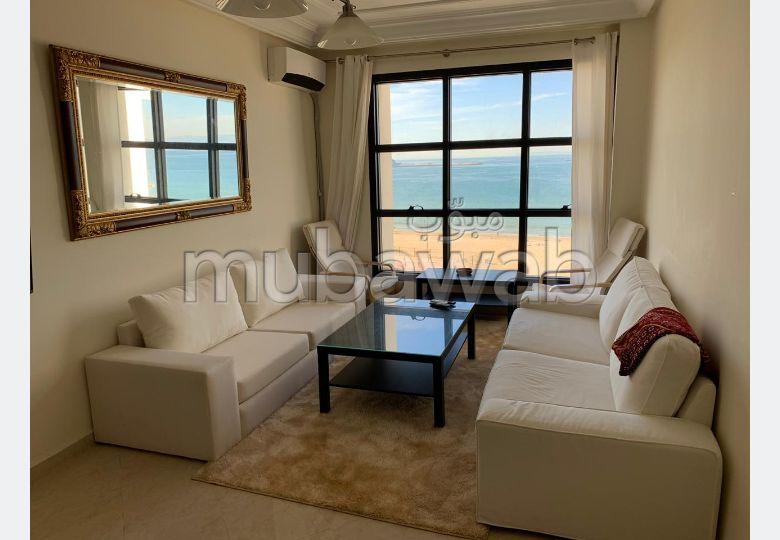 Bijou appartement à louer vue sur mer malabata 8000DH
