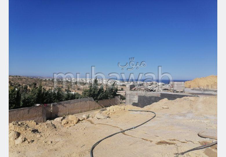 Terrain de 438m² vue mer  à Hammamet Nord