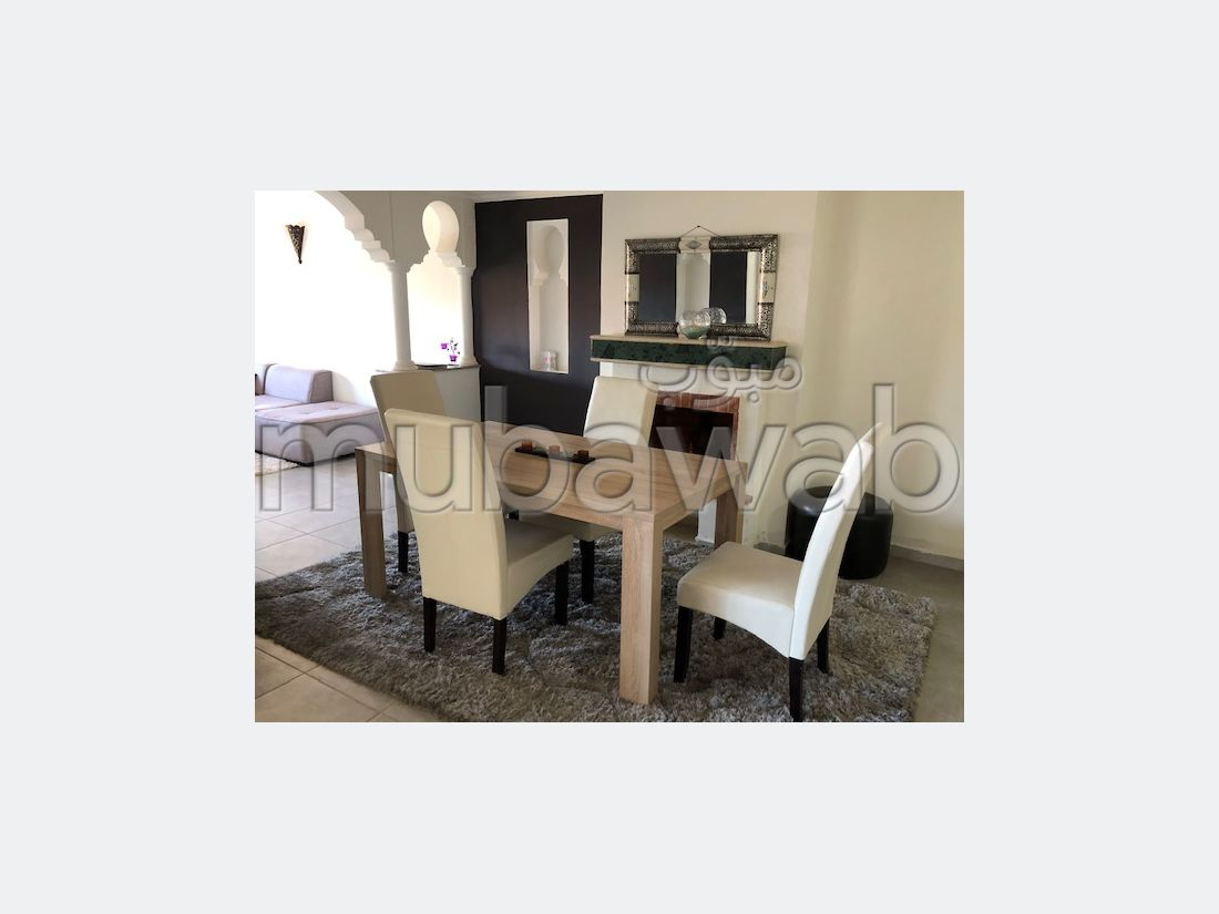 Apartment for sale in Route Casablanca. Area of 82 m². Garden and garage.