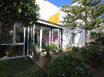 Luxury villa for sale in Malabata. 4 Hall. Private garden.