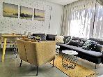 شقة رائعة للايجار بالدارالبيضاء. المساحة الإجمالية 60 م². مفروشة.
