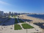 شقة للإيجار بحـي الشاطئ. المساحة الإجمالية 150.0 م². مفروشة.
