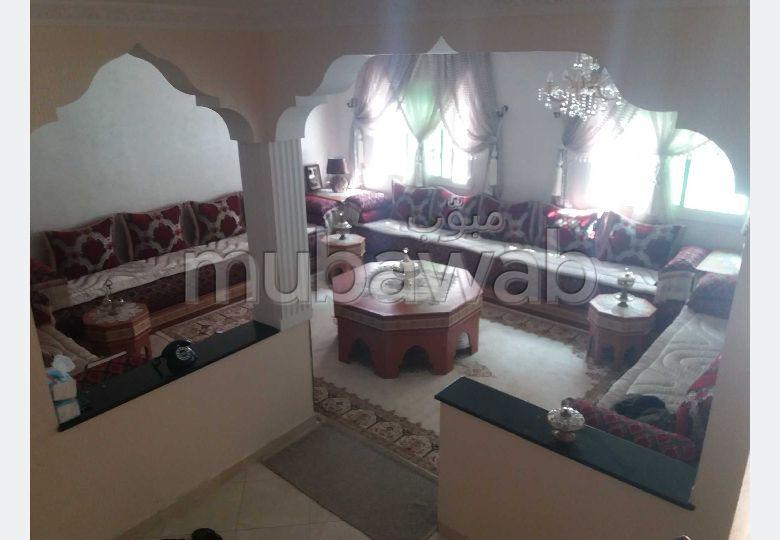 بيع منزل ب أولاد وجيه. 3 قطع كبيرة. شرفة مشرقة.