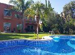 Villa 1124m² 350m² couvert, Golf de Benslimane
