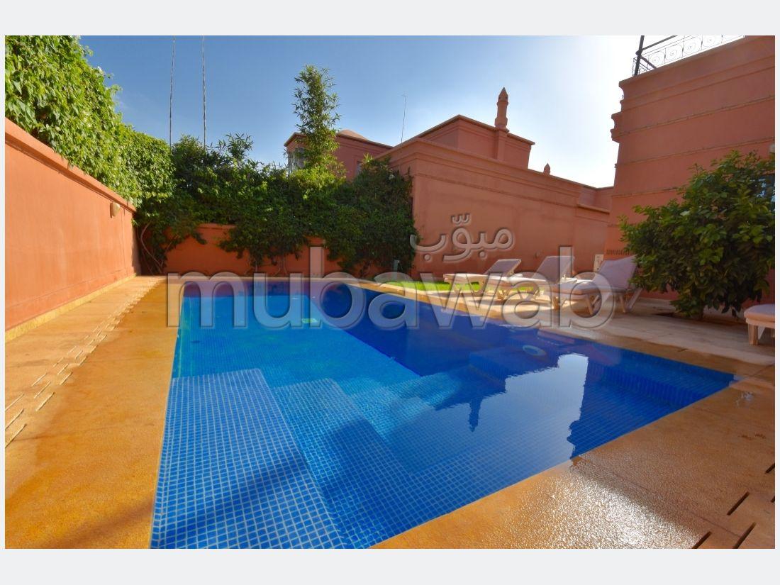 Amelkis villa non meublée piscine