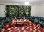 شقة مفروشة للكراء اليومي للعائلات
