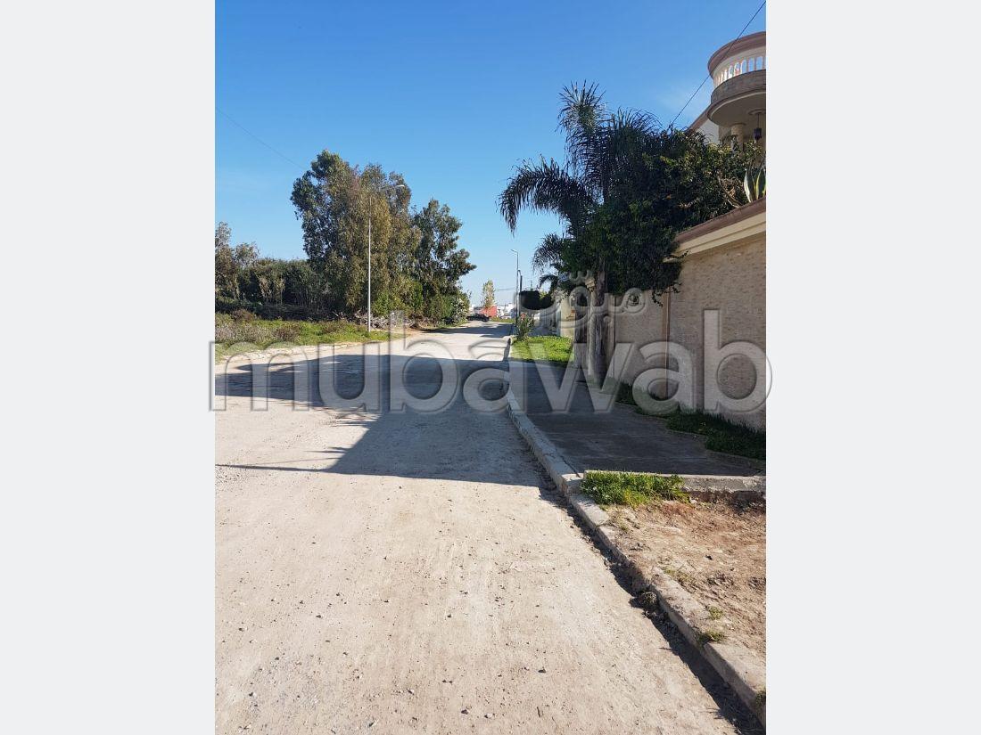 Terrain 459 m², Zone Villa, Rue 16 à Moujahidine