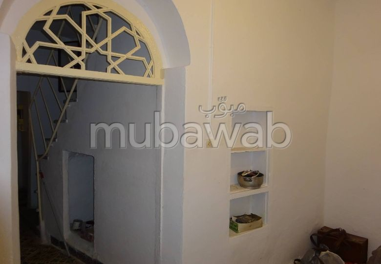 House for sale in Médina. 2 lovely rooms. Sea view.
