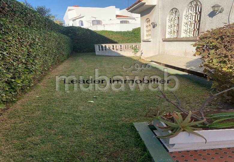 Villa 4 façade avec un grand jardin à Monica