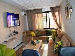 Rent this apartment in Guéliz. Surface area 97 m². Robust door, On site security.