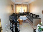 استئجار شقة بمراكش. المساحة الإجمالية 60 م². المرآب والشرفة.
