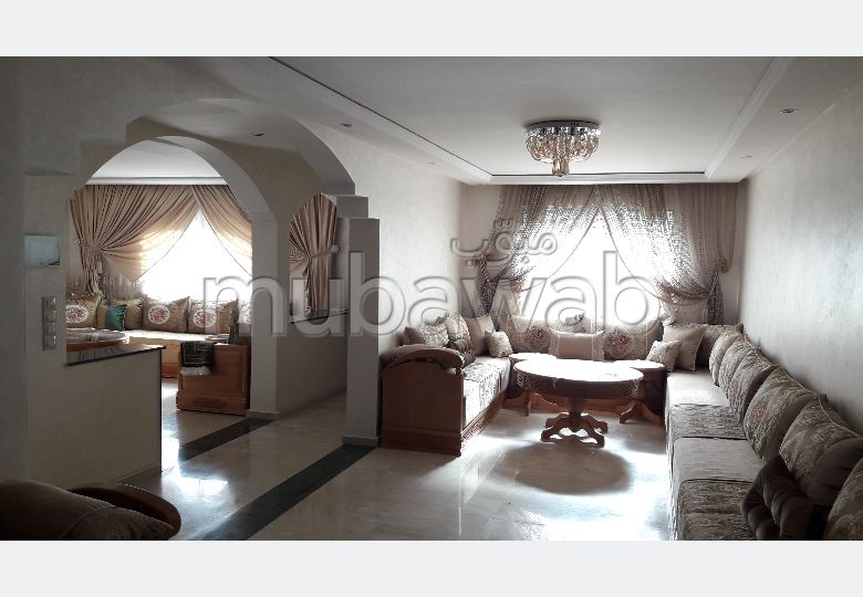 Fabulous house for sale in Al Qods. 4 Room. Furnished Moroccan living room, Enclosed residence.