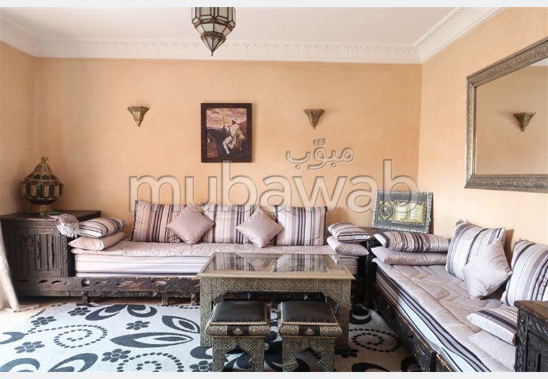 شقة رائعة للايجار بمراكش. 2 غرف رائعة. مفروشة.