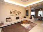 شقة للبيع ببوسكورة. المساحة الكلية 251 م². مسبح.