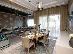 شقة رائعة للبيع ببوسكورة. المساحة الكلية 251 م². مسبح كبير.