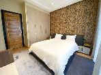 شقة جميلة للبيع ببوسكورة. المساحة الكلية 247 م². إقامة بالمسبح.