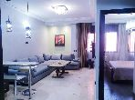 Apartments for rent in Route de Safi. 1 lovely room. Well furnished.