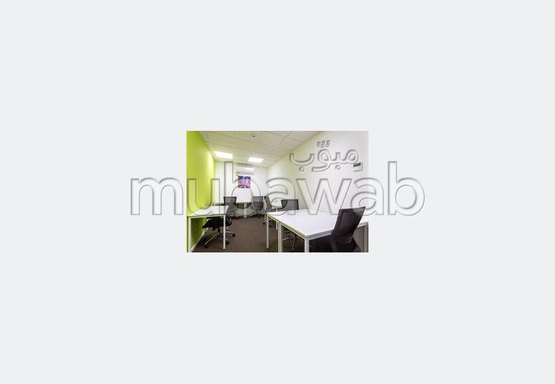 Oficinas en alquiler en Centre. Área total 120 m². Mobiliario.