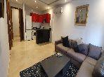 Superbe appartement à louer à Maârif. Surface totale 53 m². Meublé