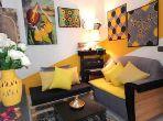 Appartement Meublé Rabat Avenue Hassan II 55m²