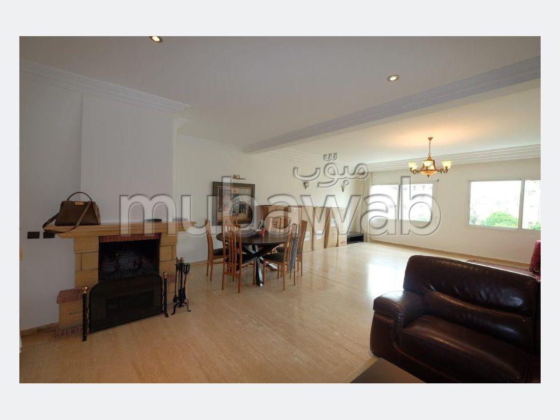 Apt 190 m² 3 chambres meublé/vide sans vis à vis
