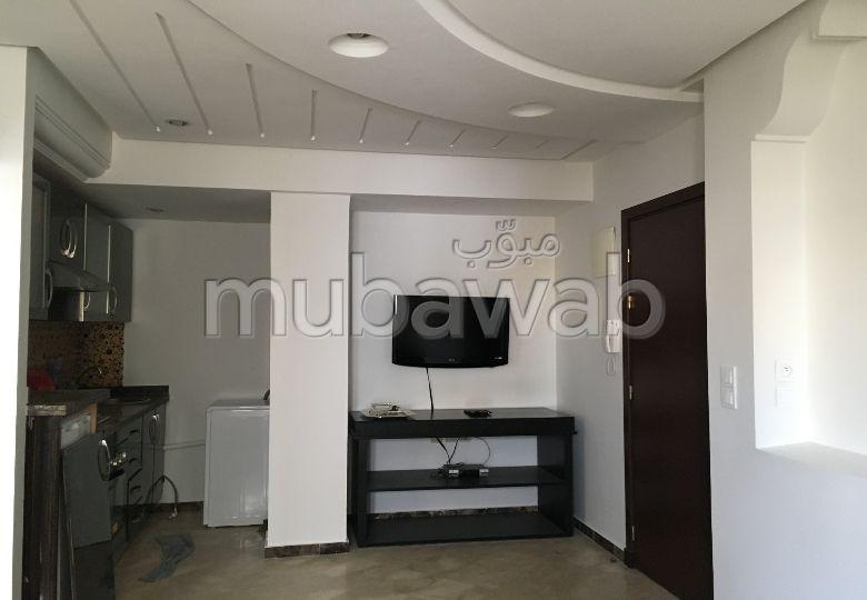 شقة للكراء بالمعاريف امتداد. المساحة 46 م². مفروشة.