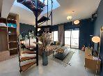 شقة رائعة للايجار بمراكش. المساحة الإجمالية 105 م². أماكن وقوف السيارات وشرفة.