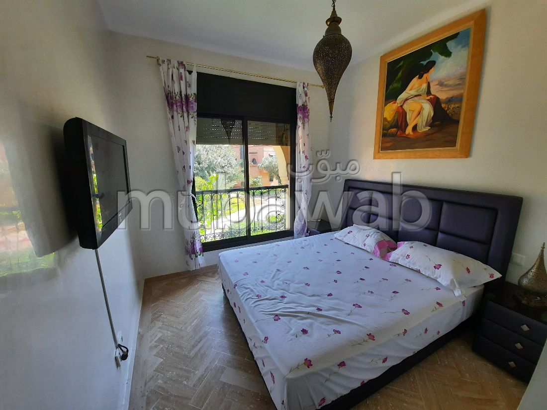 Apartment for rent in Ennakhil (Palmeraie). 2 Practice. Ample storage space.