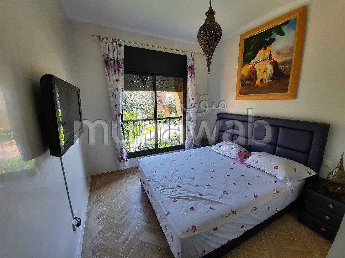 استئجار شقة بمراكش. المساحة 78 م². مفروشة.