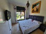 Appart avec terrasse meublé sur une luxueuse résidence
