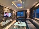 Coquet appartement meublé vue mer malabata 12000DH