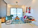 شقة رائعة للبيع بالدارالبيضاء. 2 غرف. نظام تكييف الهواء.