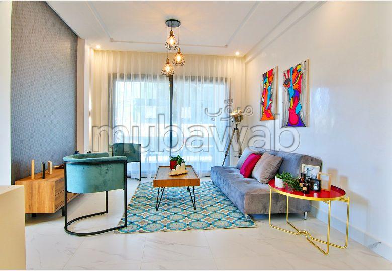 بيع شقة بالدارالبيضاء. المساحة 59 م². مطبخ مجهز.