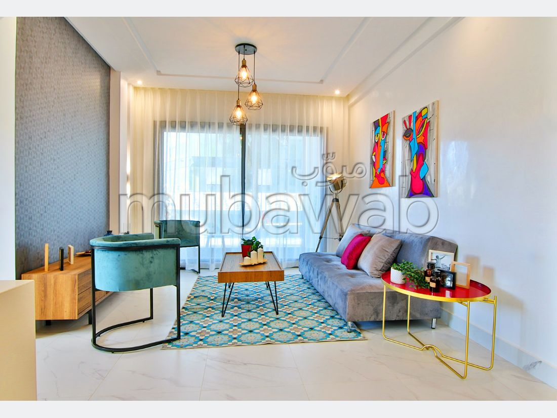 Sell apartment. Small area 56 m². Fitted kitchen.