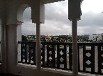 Sell apartment in Malabata. 3 living areas. Superb sea view, Secured door.