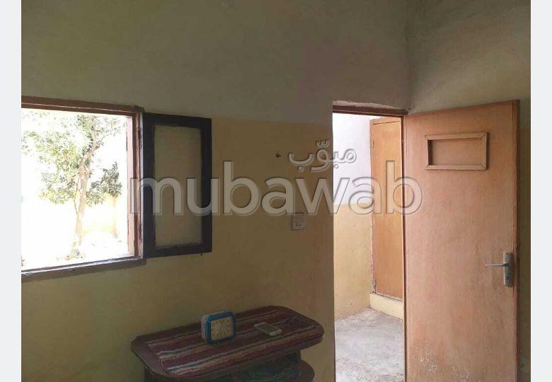 Maison à acheter à Dar Bouazza. Surface totale 64 m². Espace vert.