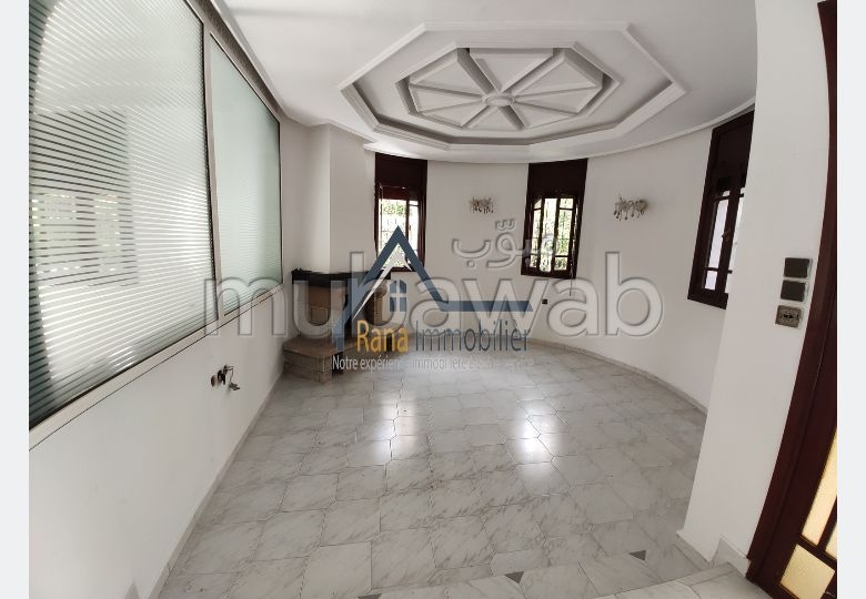 Offices for rent in Riyad. 10 Cabinet. Secured door, Secured neighbourhood.