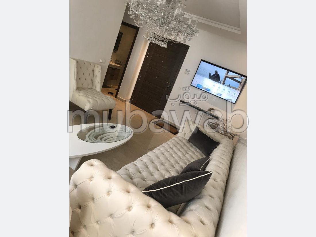 Apartment for rent in Haut Founty. 2 Small bedroom. Fully furnished.