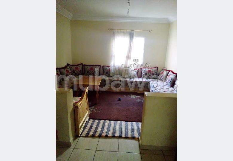 Superbe appartement à vendre à Essaouira. Surface de 65 m². Terrasse et jardin.