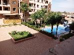 Appartement à louer à Marrakech. Superficie 55 m². Bien meublé.