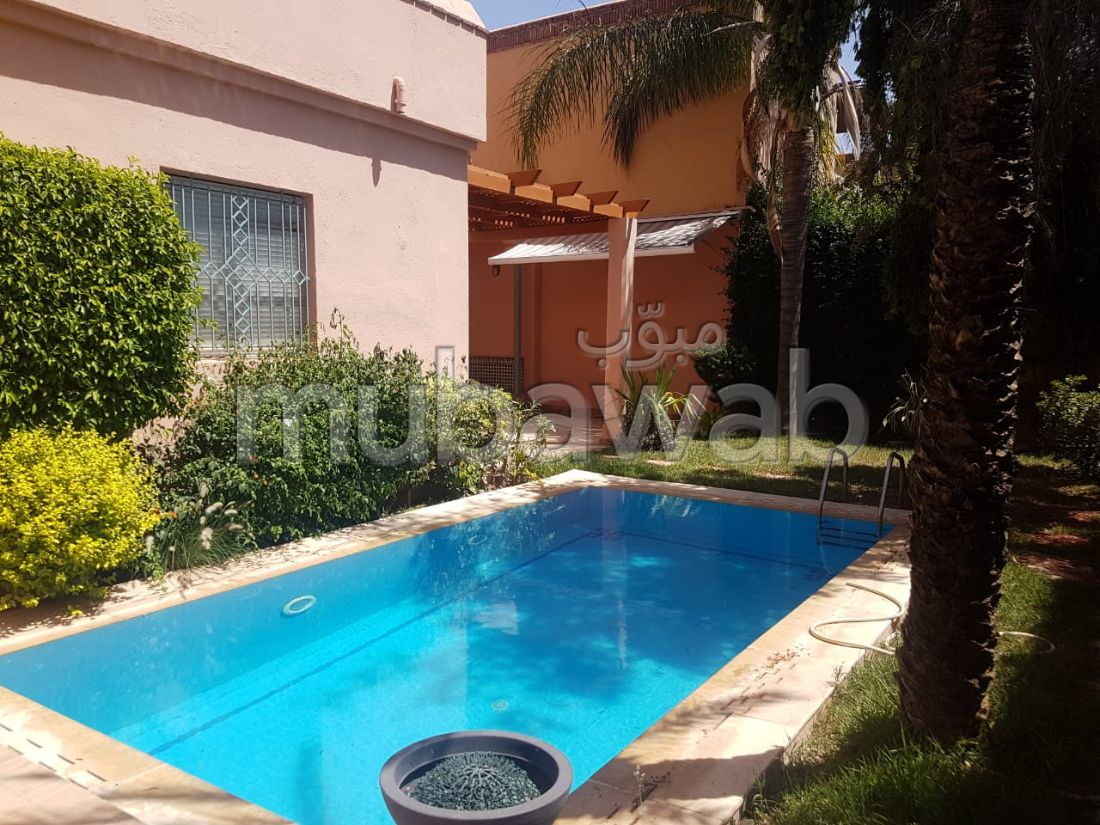 Beautiful house for sale in Route d'Agadir - Essaouira. Total area 350 m². Satellite dish, secured residence.