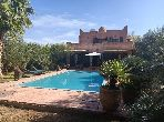 House to buy in Route de Fez. Area of 300 m². Working fireplace, Residence with swimming pool.