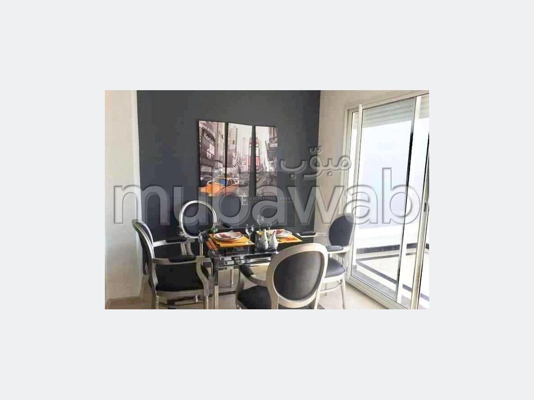 Location beau studio meublé avec terrasse Quartier MAARIF