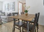 بيع شقة ببوسكورة. المساحة الكلية 132.0 م². فرن.