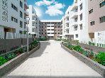 شقة جميلة للبيع ببوسكورة. المساحة الإجمالية 109.0 م². باب متين.