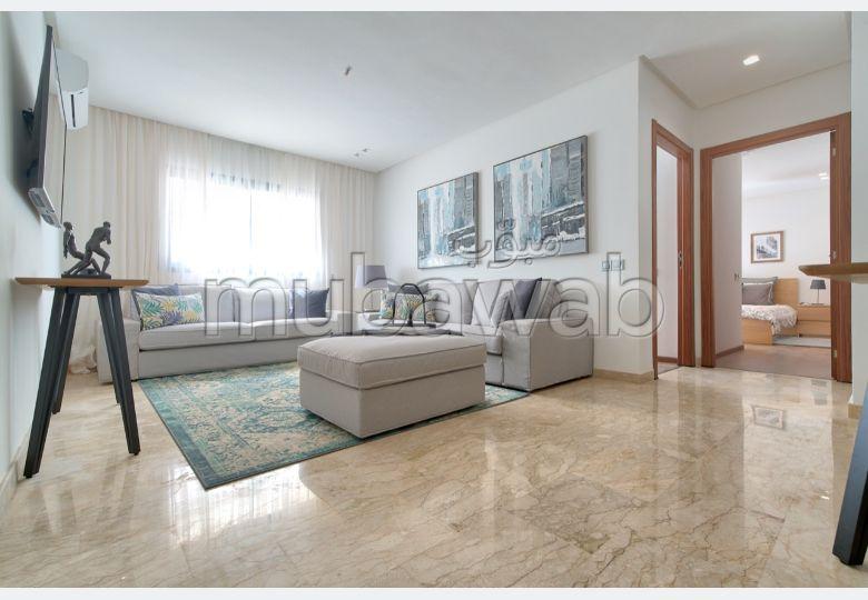 شقة جميلة للبيع ببوسكورة. المساحة الكلية 132.0 م². مطبخ مع فرن.